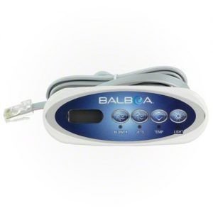 Balboa Mini Oval LCD 4 Button